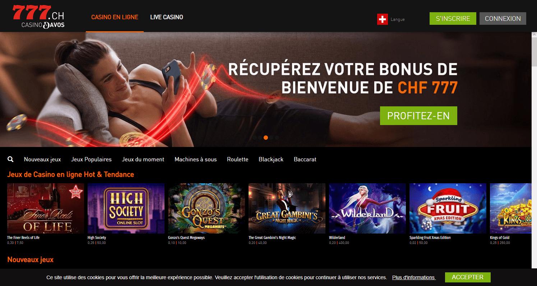 lobby casino777.ch
